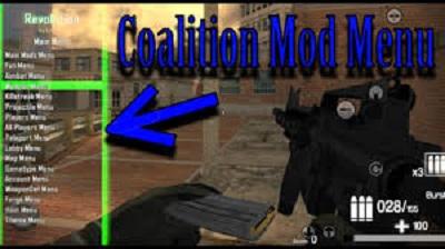 Coalition Mod Menu Apk Image