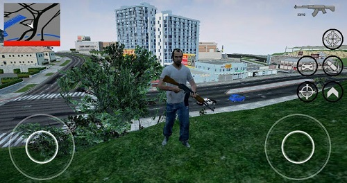 GTA 5 Los Angeles Mod Apk Image 1