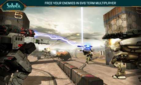 Walking War Robots Mod Apk Image 1